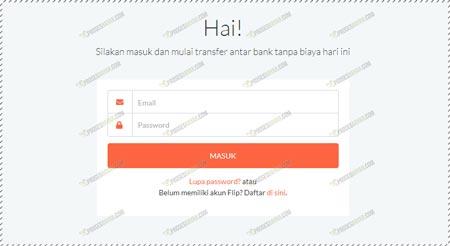 Masukan Email Password