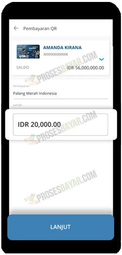 3 Input Nominal Transaksi MPM