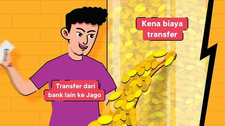 Biaya Admin Transfer Bank Jago