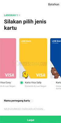 Kartu Line Bank