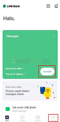 Limit Transfer Line Bank
