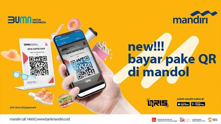 Transaksi QRIS Mandiri