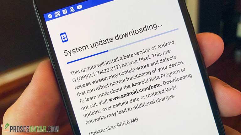 Update OS Smartphone