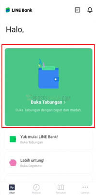 line bank indonesia