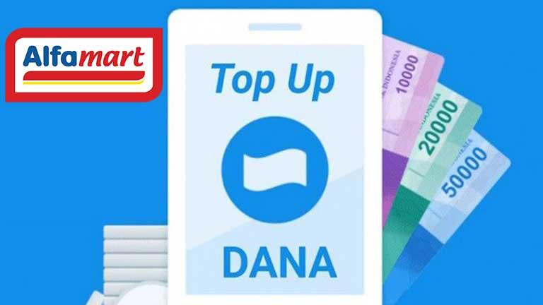 Biaya Top Up DANA di Alfamart
