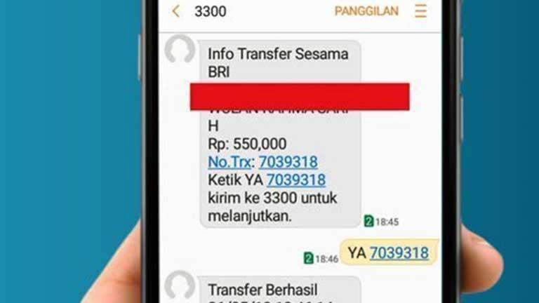 biaya sms banking