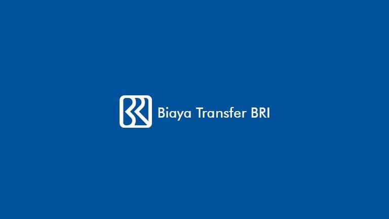 Biaya Transfer BRI