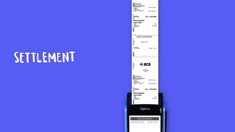 Contoh Settlement BCA