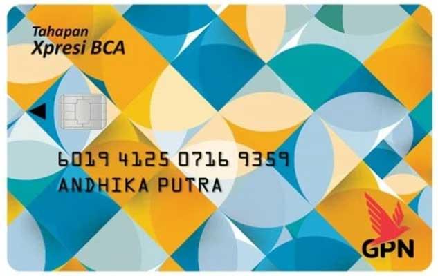 Jenis Kartu BCA Xpresi