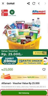 Belanja Alfamart Pakai GoPay Paylater