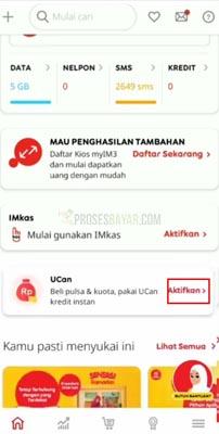 Cara Daftar UCan Indosat Paylater