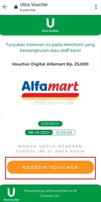 Redeem voucher Alfamart