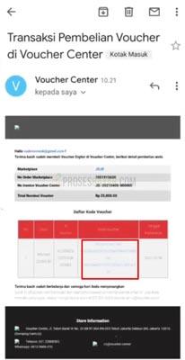 email voucher