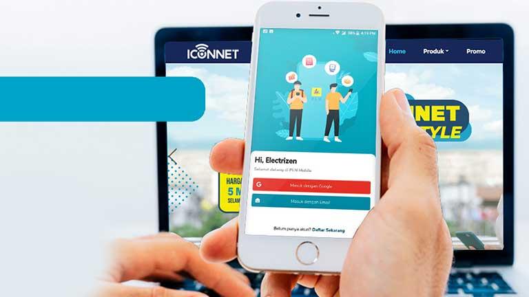 Bayar Iconnet PLN