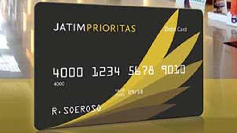 Kartu ATM Bank Jatim Prioritas