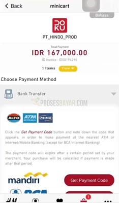 metode pembayaran hm online